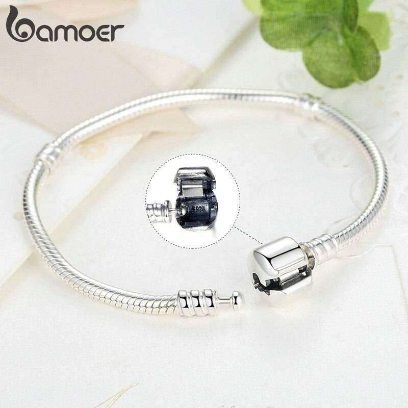 Schlangen-Armband für Beads & Charms (17-22cm) | 925 Armband 925 Charm Armbänder 3